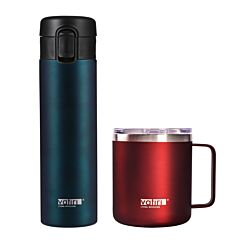 12oz Nature Vacuum Mug & 300ml Vacuum Flask